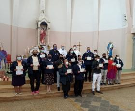 Envio de misioneros de la Diócesis de Riobamba