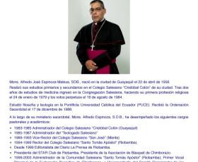 Quito tiene nuevo Arzobispo