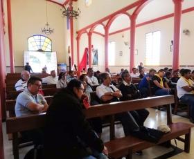 Misión puerta a puerta en la parroquia San Pedro y San Pablo