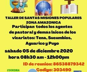 Video de las Santas Misiones en la Zona Amazonica